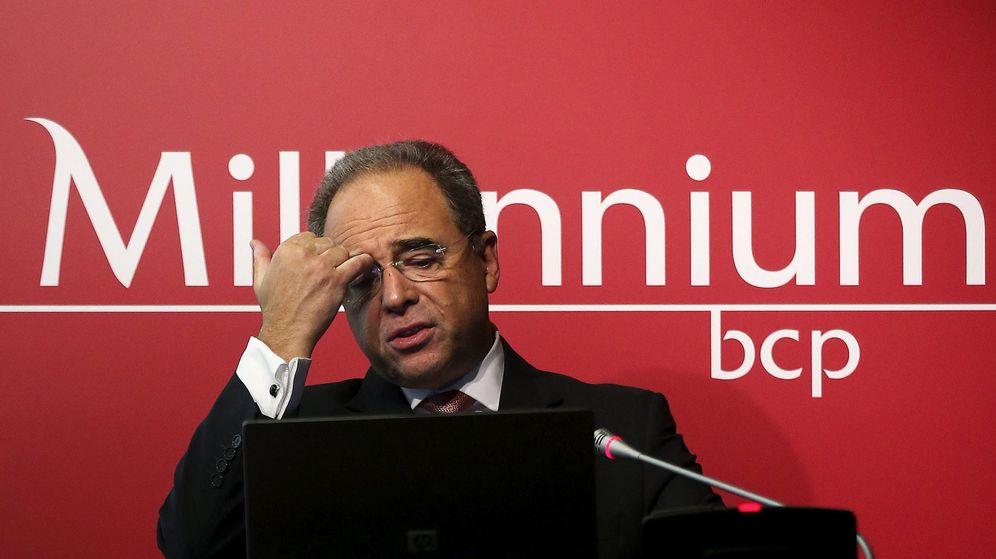 Foto: El vicepresidente del consejo de administración del Banco Millennium BCP, Nuno Amado. (EFE)