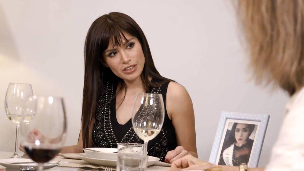 Foto: Miriam Saavedra, en 'Ven a cenar conmigo: gourmet edition'. (Cuatro)