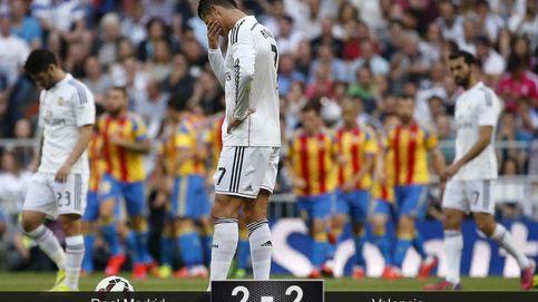 El Valencia da un mordisco al Real Madrid y aleja la Liga del Bernabéu