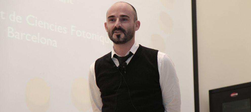 Foto: El investigador Romain Quidant, del Instituto de Ciencias Fotónicas