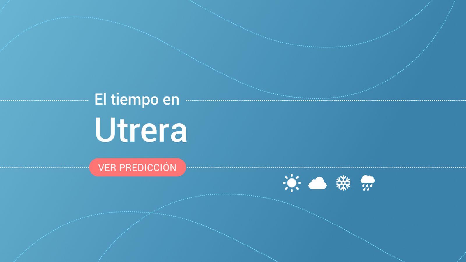 Foto: El tiempo en Utrera. (EC)