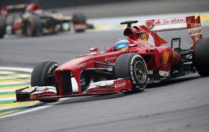 Final de año: Alonso y De la Rosa al simulador, Webber al chocolate