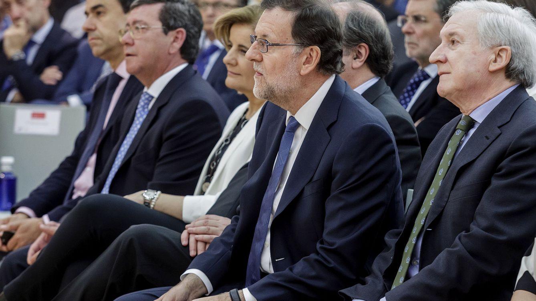 El 'capo' burgalés entre diputados y senadores