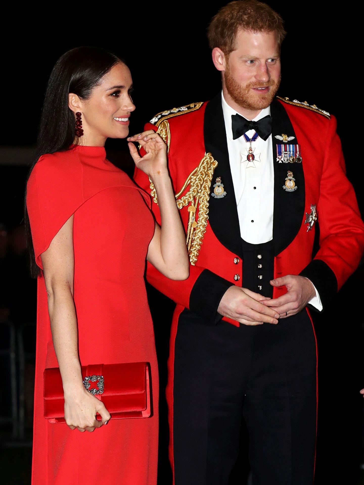 Harry y Meghan. (Reuters)