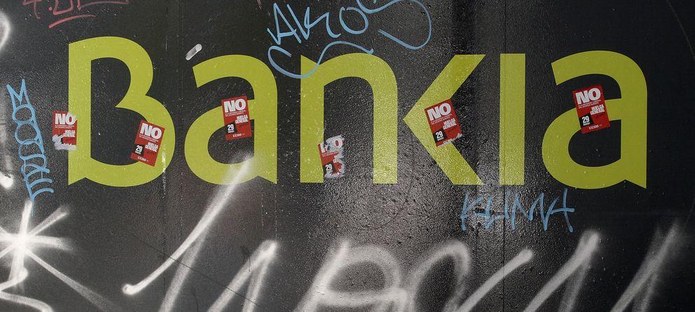 Foto: El logo de Bankia, en una pared en Madrid. (Reuters)