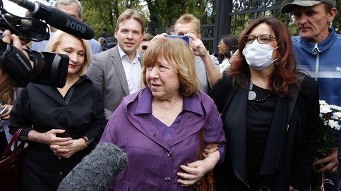 La Nobel Svetlana Alexiévich pide mediación internacional en Bielorrusia