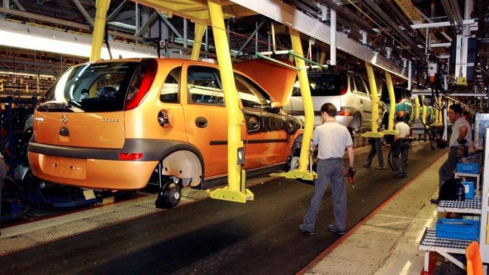 Foto: Fábrica de automóviles. (EFE)