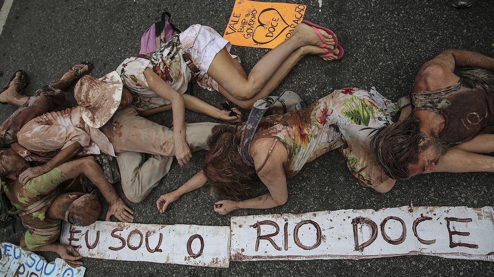 Tragedia de Minas Gerais (Brasil): el desastre ecológico, en imágenes