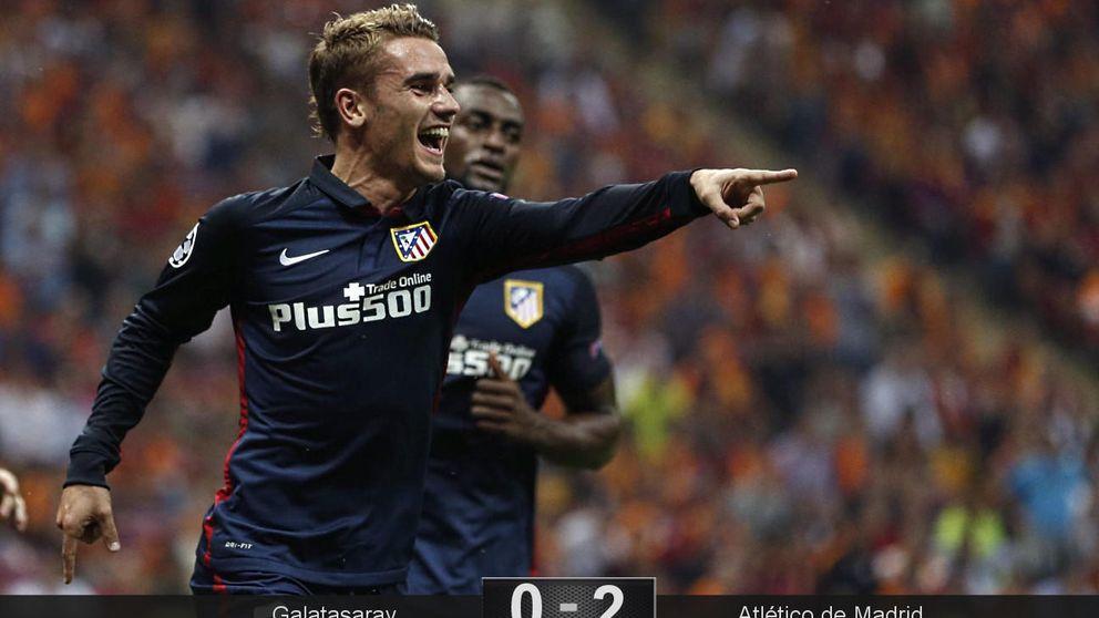 Griezmann le demuestra a Simeone que se puede ganar jugando mucho mejor