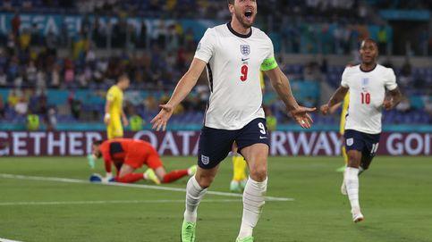 Inglaterra se pasea ante Ucrania y se planta en las semifinales de la Eurocopa (0-4)