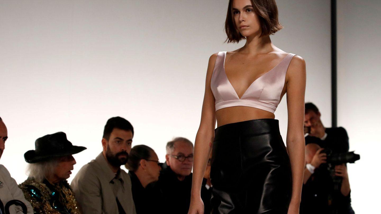 Kaia Gerber para Givenchy. (Reuters)