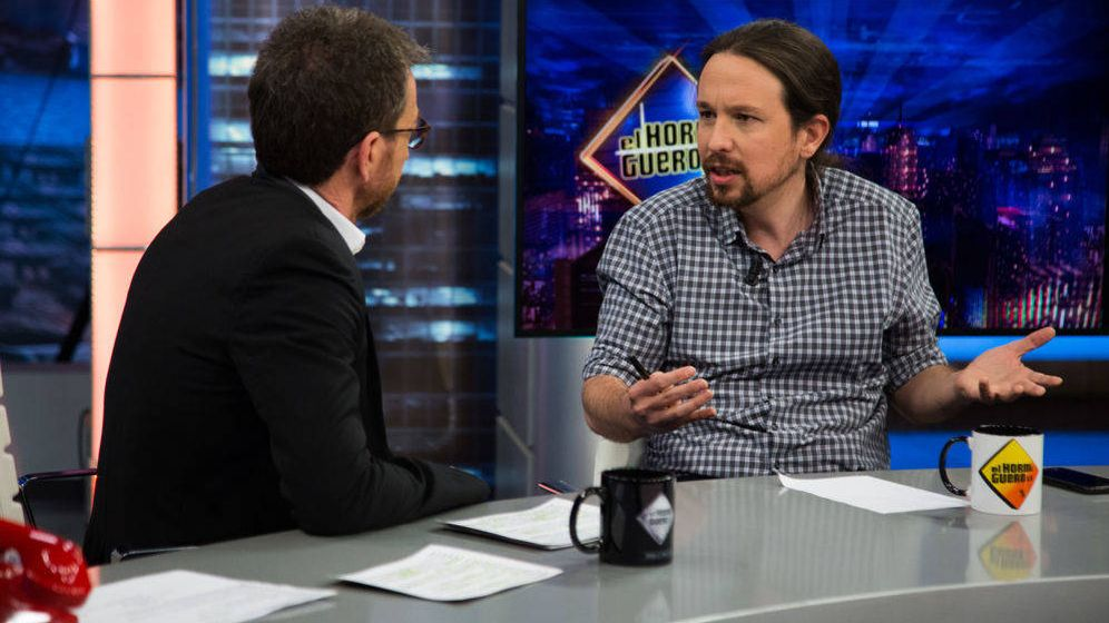 Foto: Pablo Iglesias, en 'El Hormiguero'. (Antena 3)