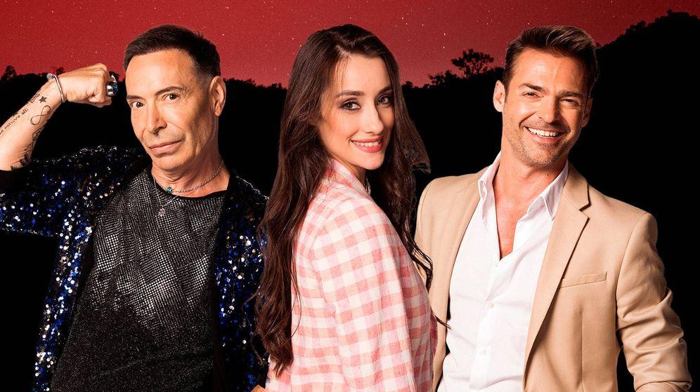 Foto: Joao, Adara y Hugo, en 'GH VIP 7'. (Telecinco)