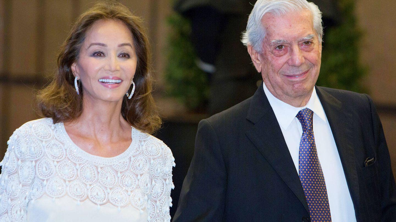 Preysler y Vargas Llosa, en una imagen de archiva. (Getty)