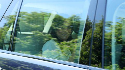En imágenes: la llegada de Harry y Meghan al último ensayo de la boda