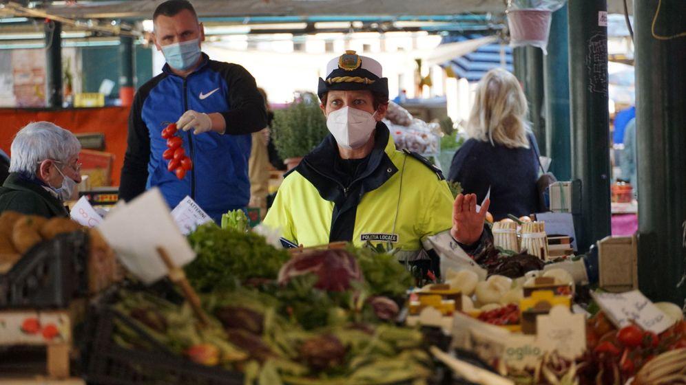 Foto: Un mercado en Venecia, Italia. (Reuters)