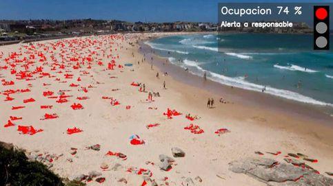 Ada Colau contrata a Telefónica para controlar el aforo de las playas de Barcelona