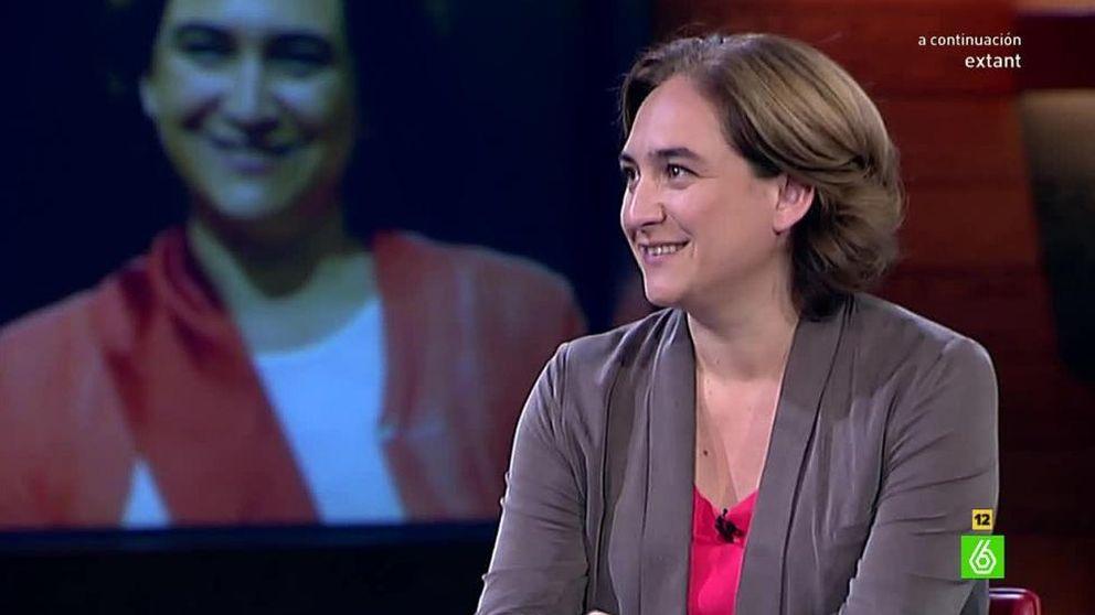Ada Colau defiende a su marido Adrià Alemany en 'El intermedio' de  La Sexta