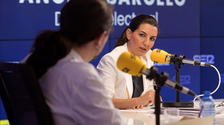 Foto: Pablo Iglesias y Rocío Monasterio. (EFE)