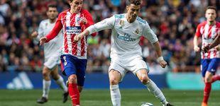 Post de Cristiano Ronaldo y Griezmann se ganan la pasta en el derbi del Bernabéu