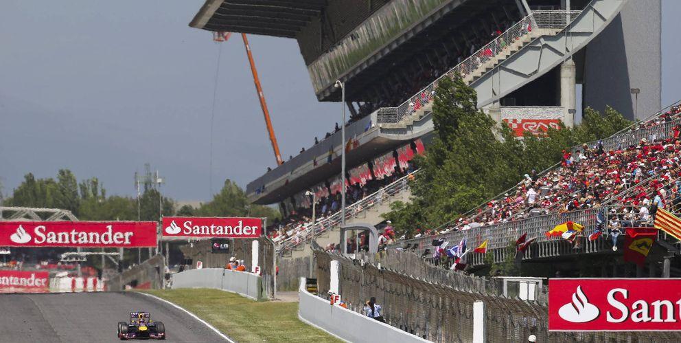 Foto: Montmeló durante el pasado GP de España.