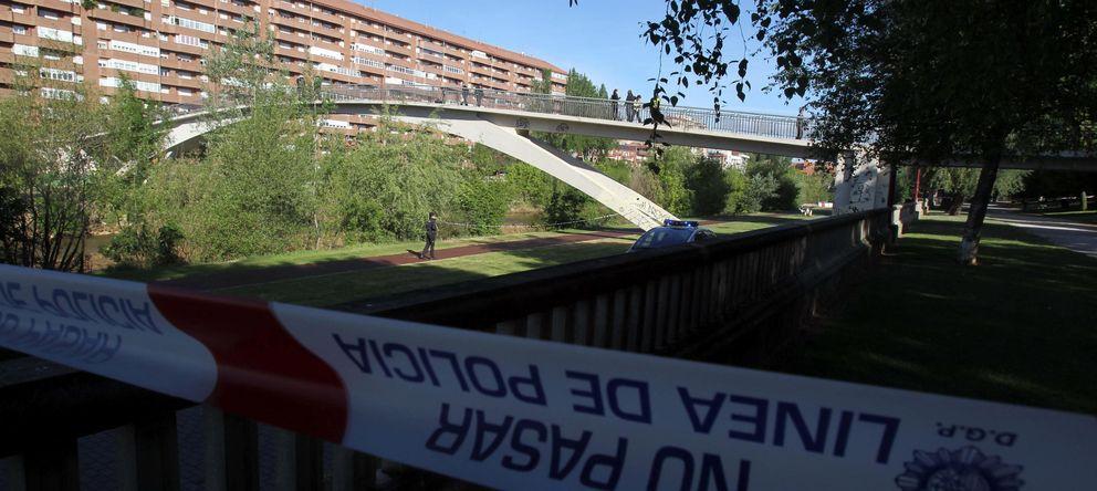 Foto: Lugar en que fue asesinad Isabel Carrasco. (EFE)
