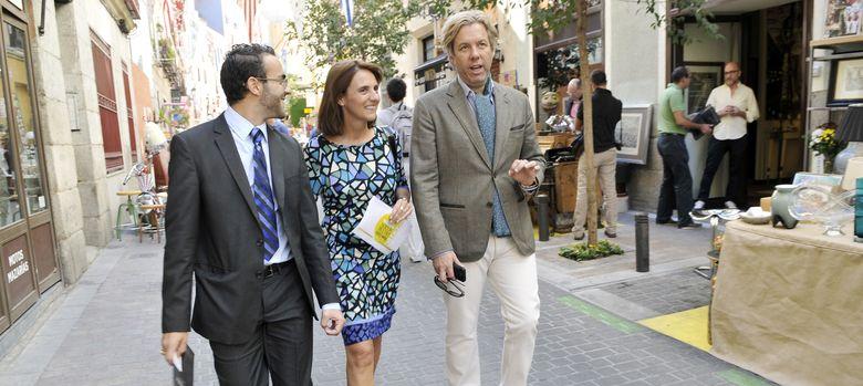 Foto: Michael S. Smit junto a Marta Riopérez, directora de 'Nuevo Estilo'