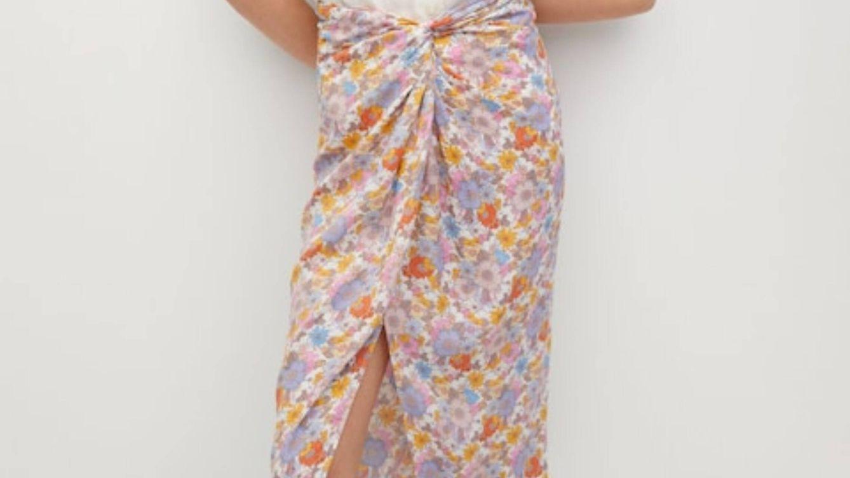 Éxito en ventas seguro: la nueva falda pareo de Mango para un vientre plano