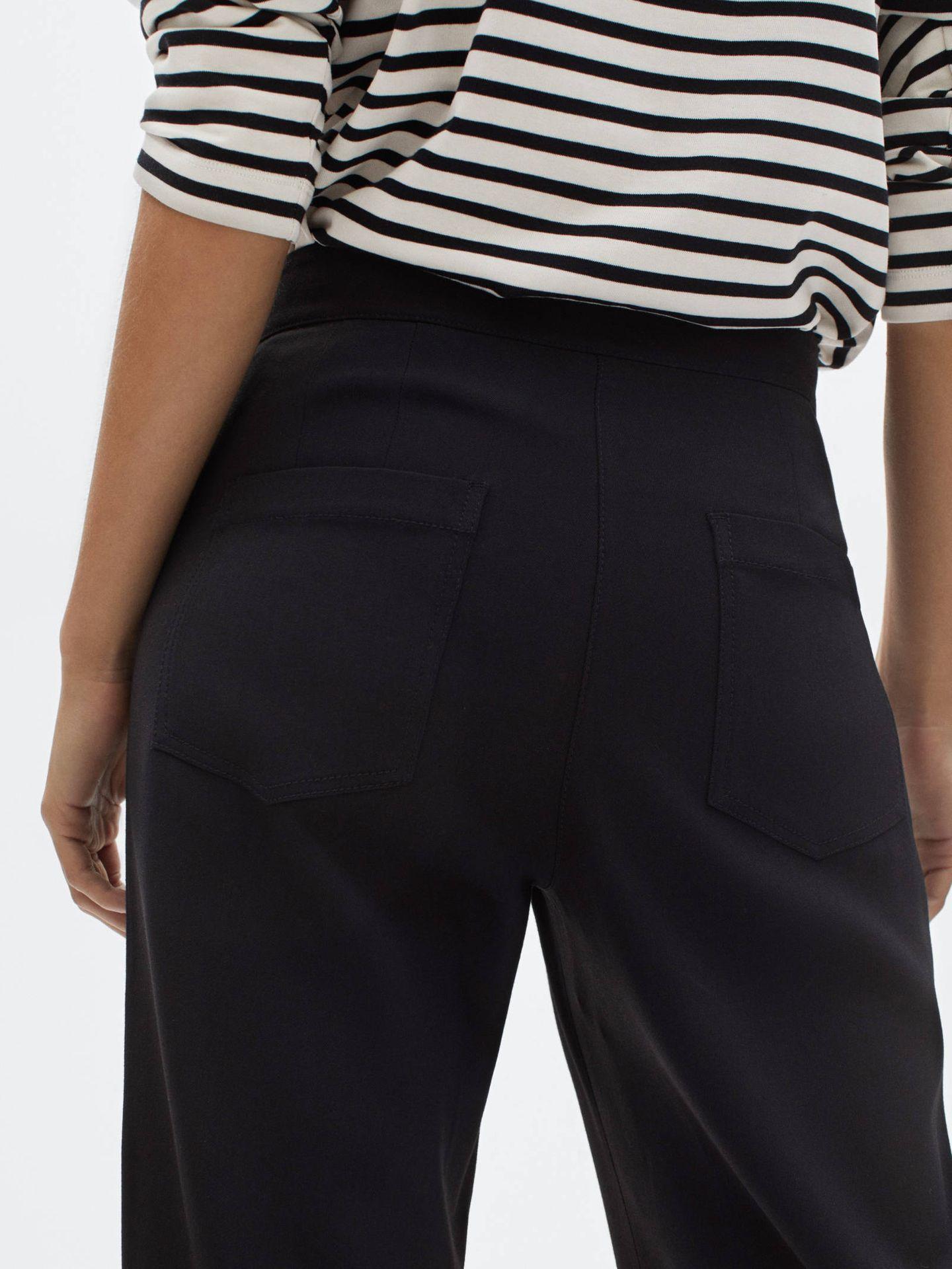 Pantalón ancho de Massimo Dutti. (Cortesía)
