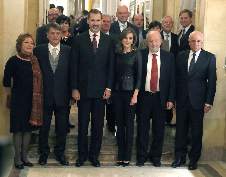 Foto: Los Reyes entregan el Premio Francisco Cerecedo