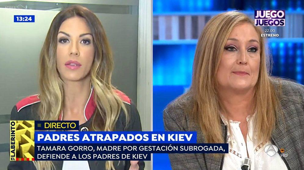 Foto: Tamara Gorro y Elisa Beni. (Atresmedia Televisión)