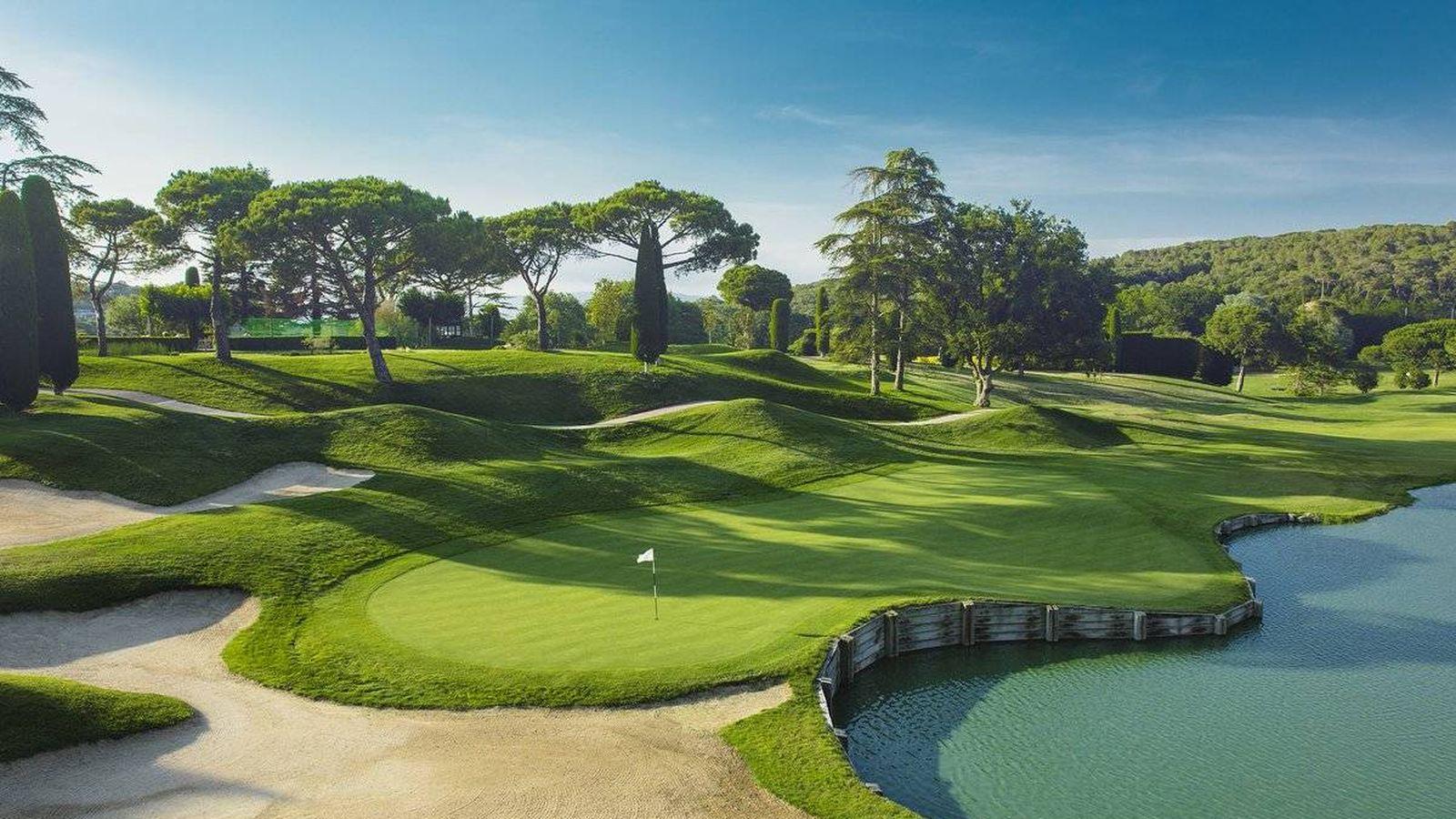 Foto: Imagen del Club de Golf de Vallromanes. (Twitter oficial del club)