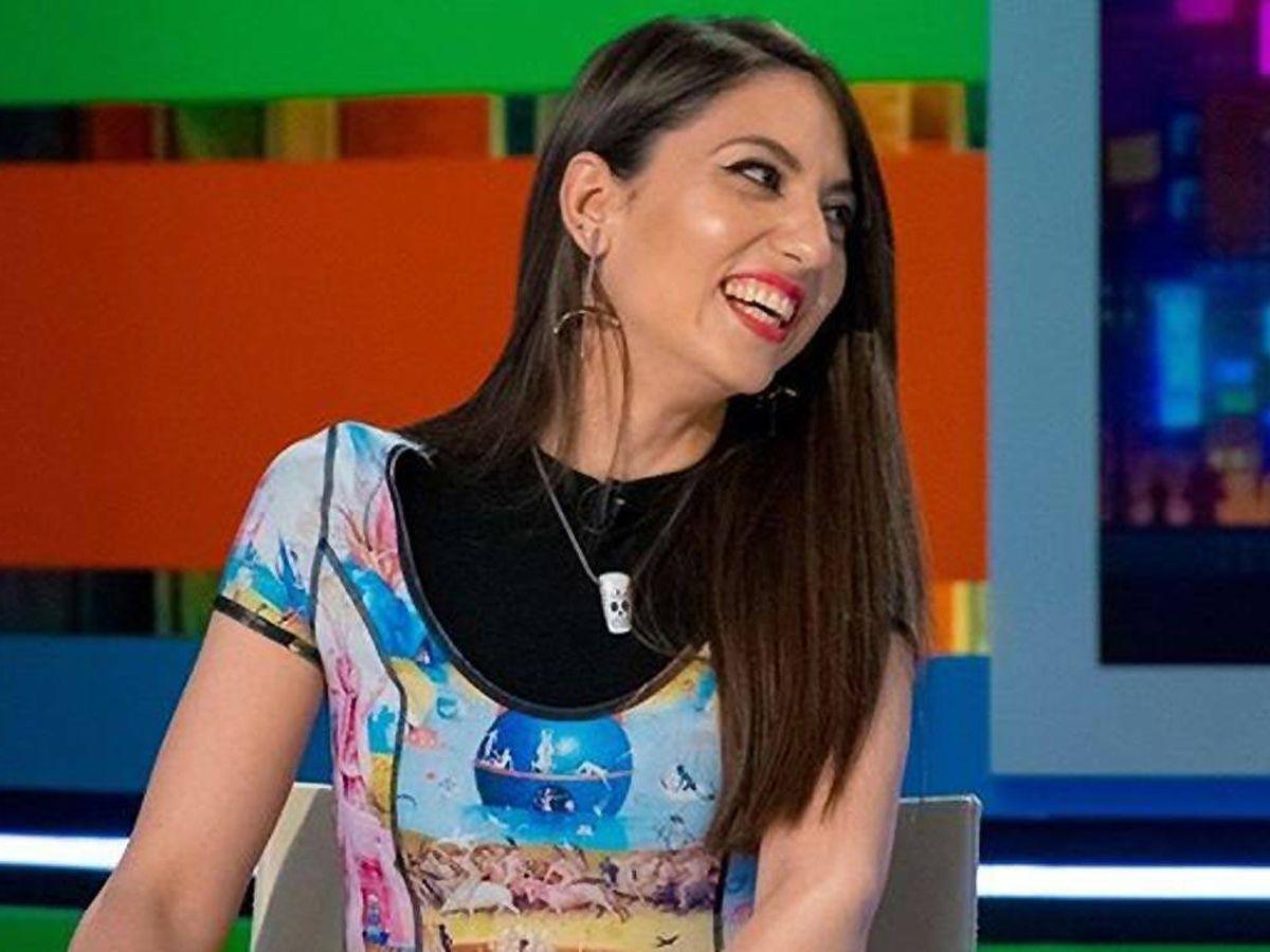 Foto: Maya Pixelskaya en 'Zapeando'. (Atresmedia)