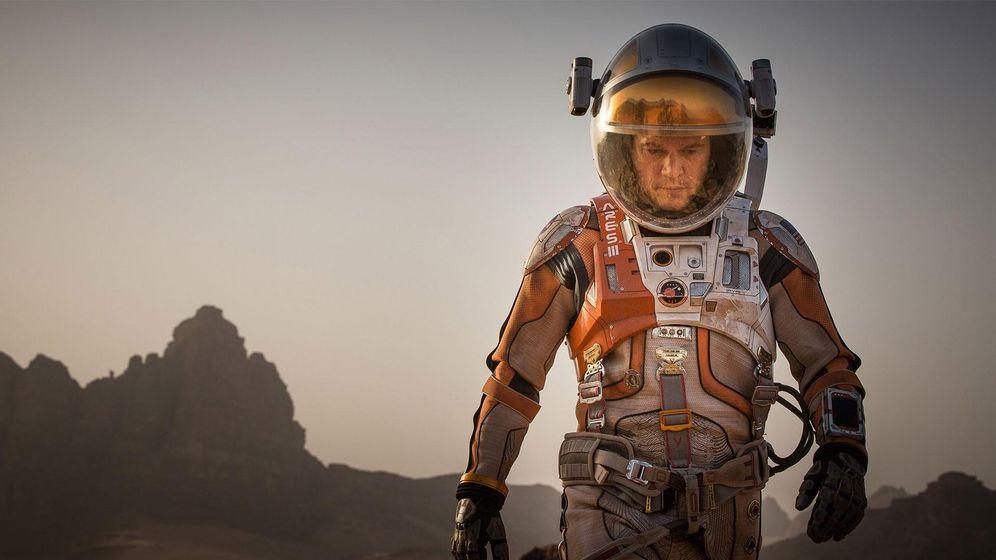 Foto: Matt Damon en un fotograma de 'Marte'