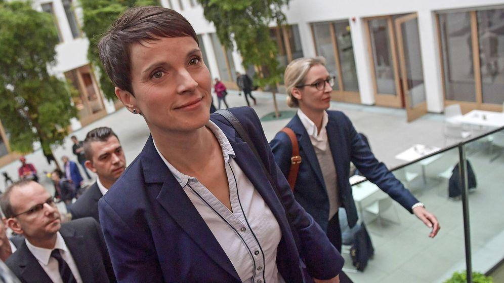 Foto: La presidenta del partido ultraderechista Alternativa para Alemania (AfD) Frauke Petry. (EFE)