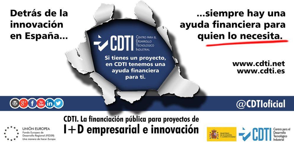 Foto: El CDTI financia proyectos de investigación en cooperación de hasta 20 millones