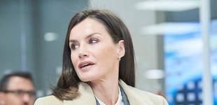 Post de El look masculino de la reina Letizia que causa división de opiniones