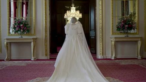 Emma Corrin ('The Crown') y el icónico vestido de novia de la princesa Diana
