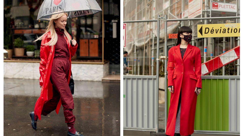 Tu abrigo será rojo sí o sí. (Imaxtree)