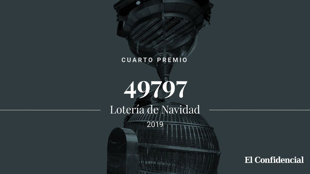 El segundo cuarto premio de la Lotería de Navidad cae en el 49797