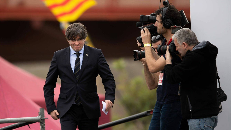 Foto: El expresidente del Ejecutivo catalán, Carles Puigdemont. (Getty)