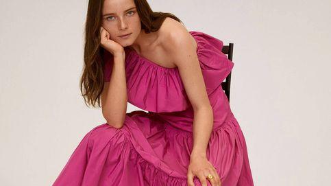 Los tres vestidos rosas de Mango Outlet que no te puedes perder