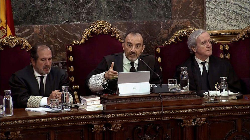 Foto: Manuel Marchena, en el Supremo. (EFE)