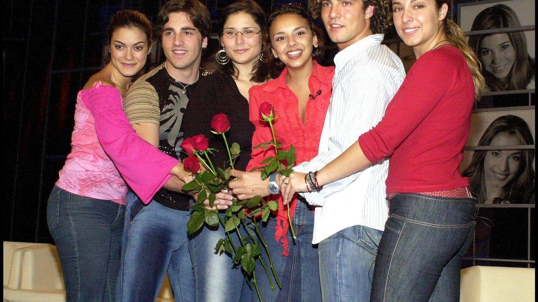 Foto: Algunos de los triunfitos en 2002 (Gtres)