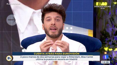Blas Cantó en TVE: de su mensaje a Rocío Carrasco a su 'decepción' antes de Eurovisión