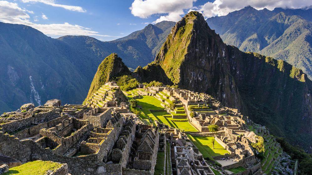 Foto: Machu Picchu, una de las siete maravillas del mundo. (EFE)