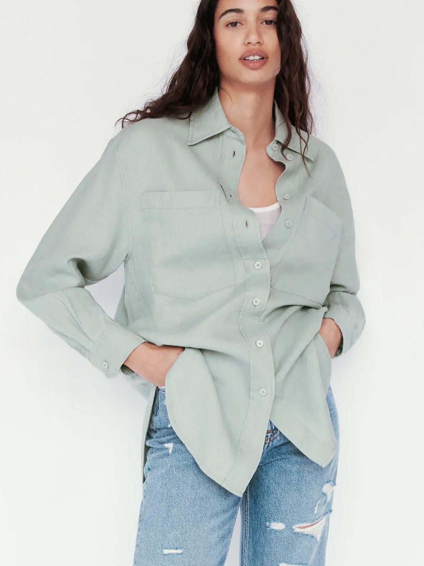 Camisa de las novedades de Zara. (Cortesía)