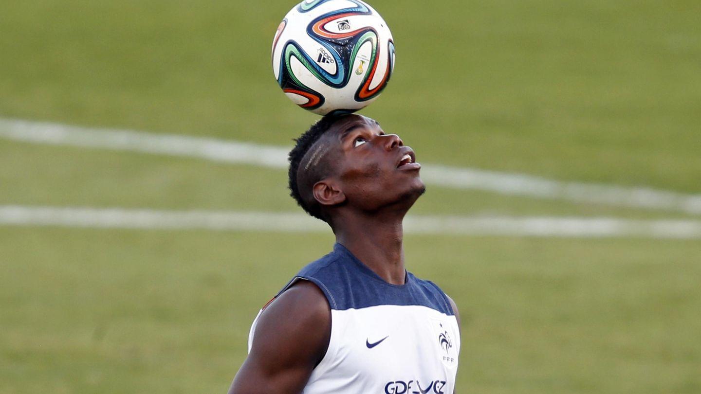 Pogba, en una imagen de archivo con Francia. (Reuters)
