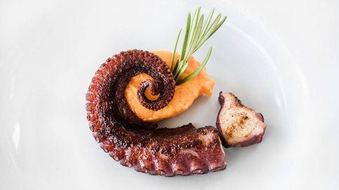 Una gran delicia gourmet: pulpo con parmentier de batata