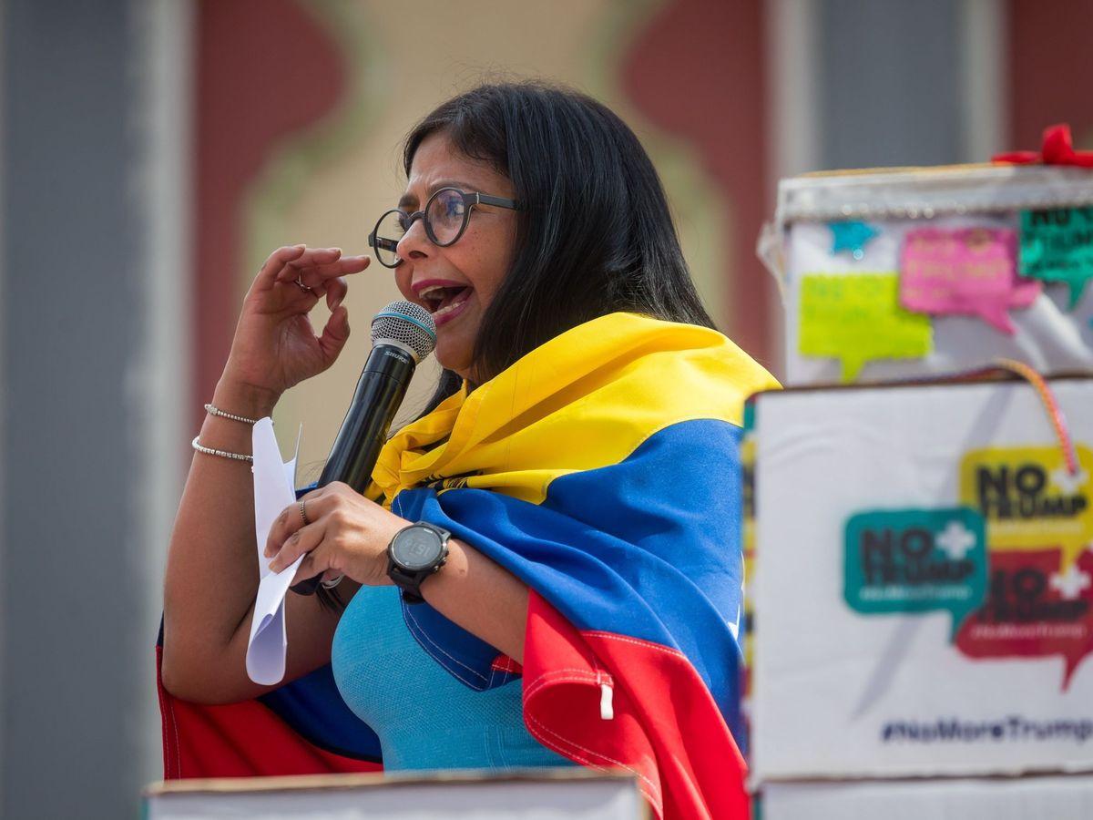 Foto: La vicepresidenta de Venezuela, Delcy Rodríguez, en una foto de archivo. (EFE)